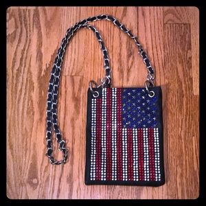 Handbags - American Flag Rhinestone Bag 🇺🇸